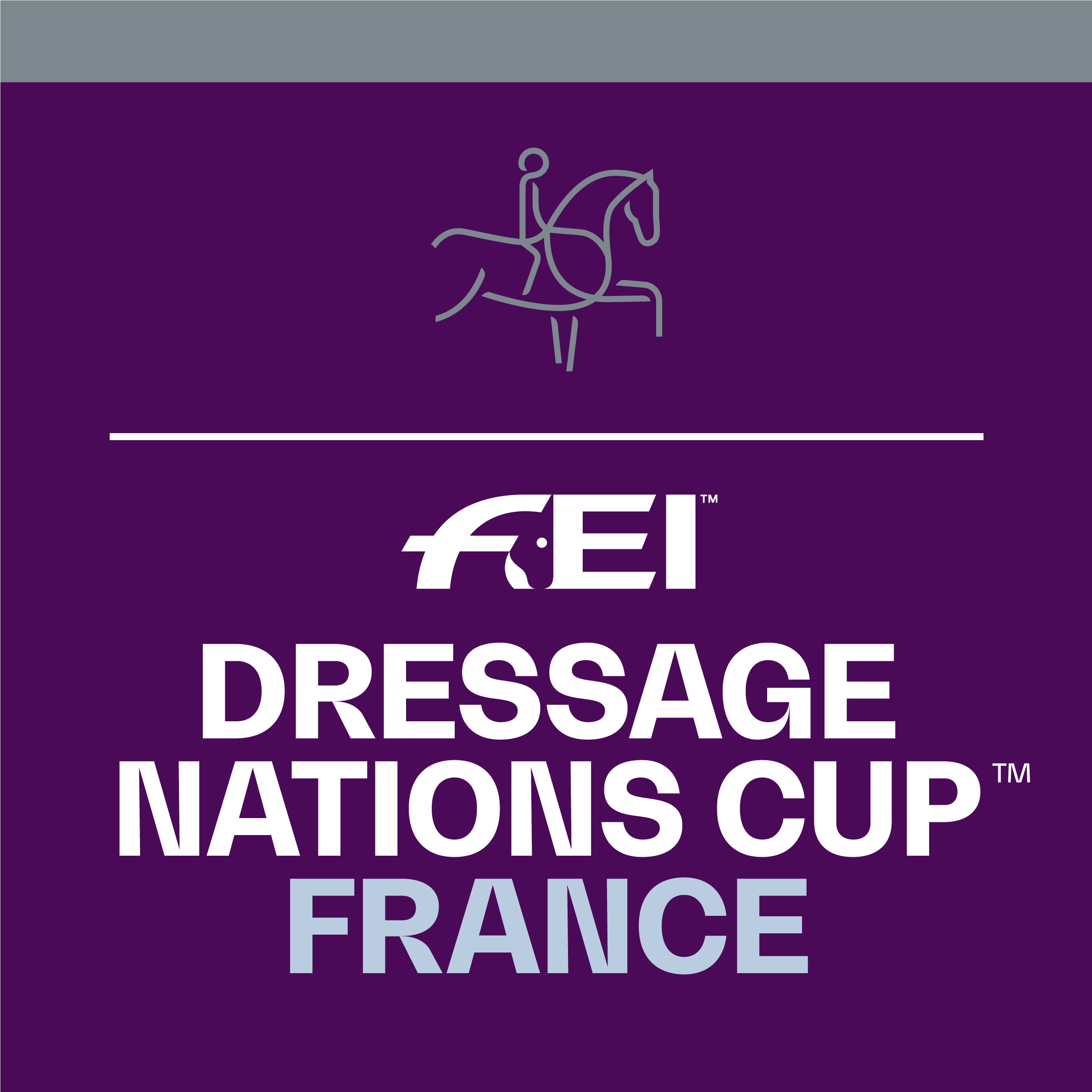 FEI Nations Cup Dressage Logo