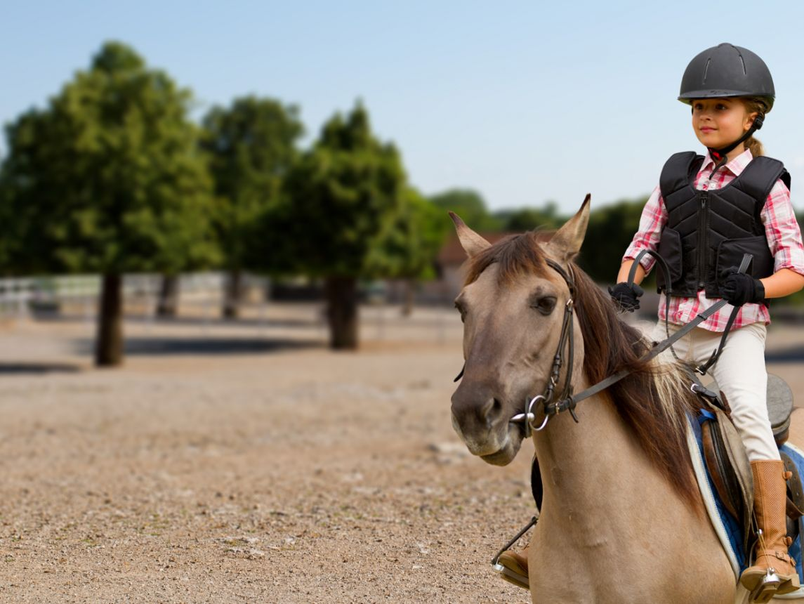 Horse first riding lesson what to wear exclusive photo