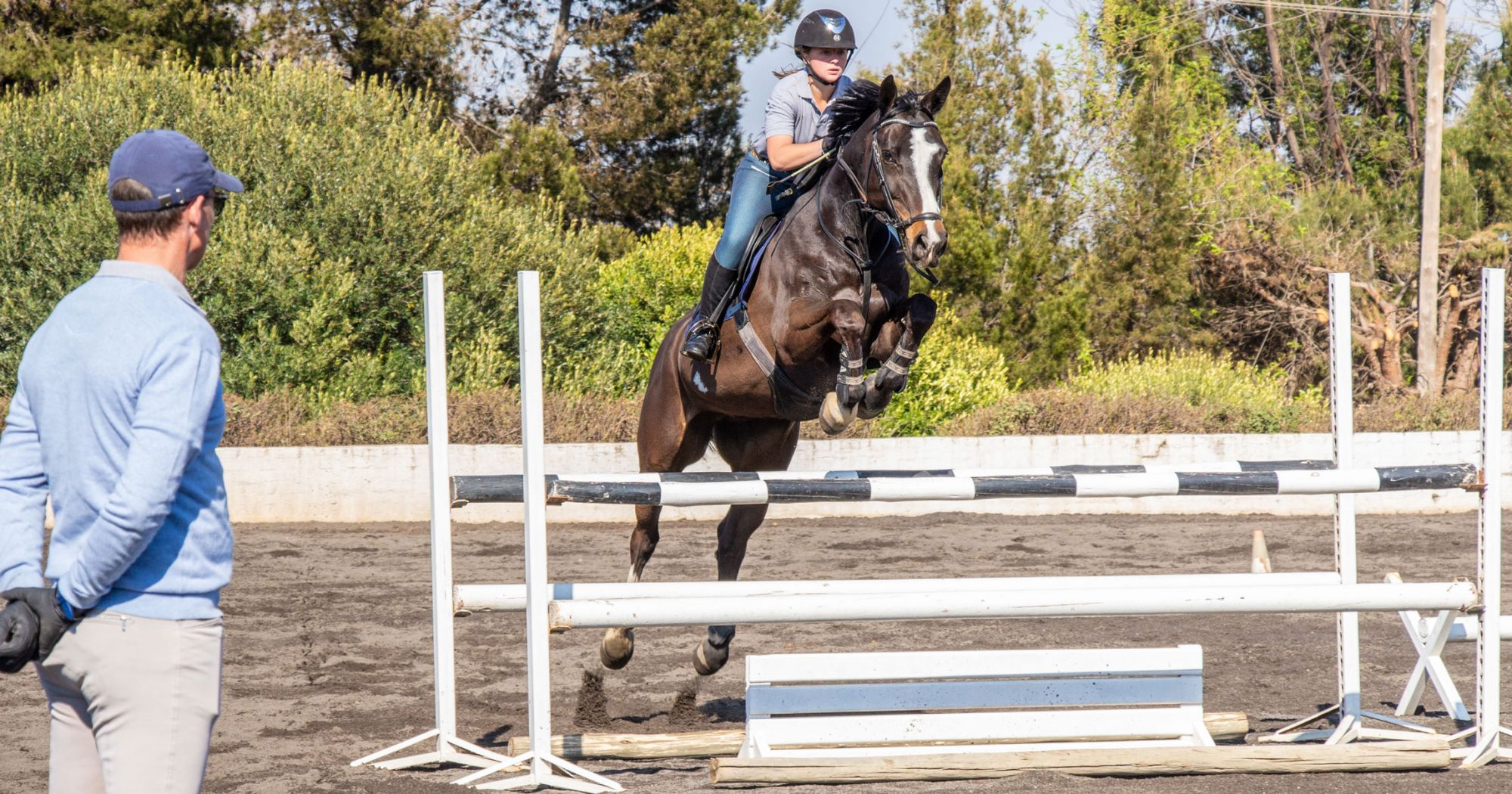 3 Jumping Exercises For Small Arenas