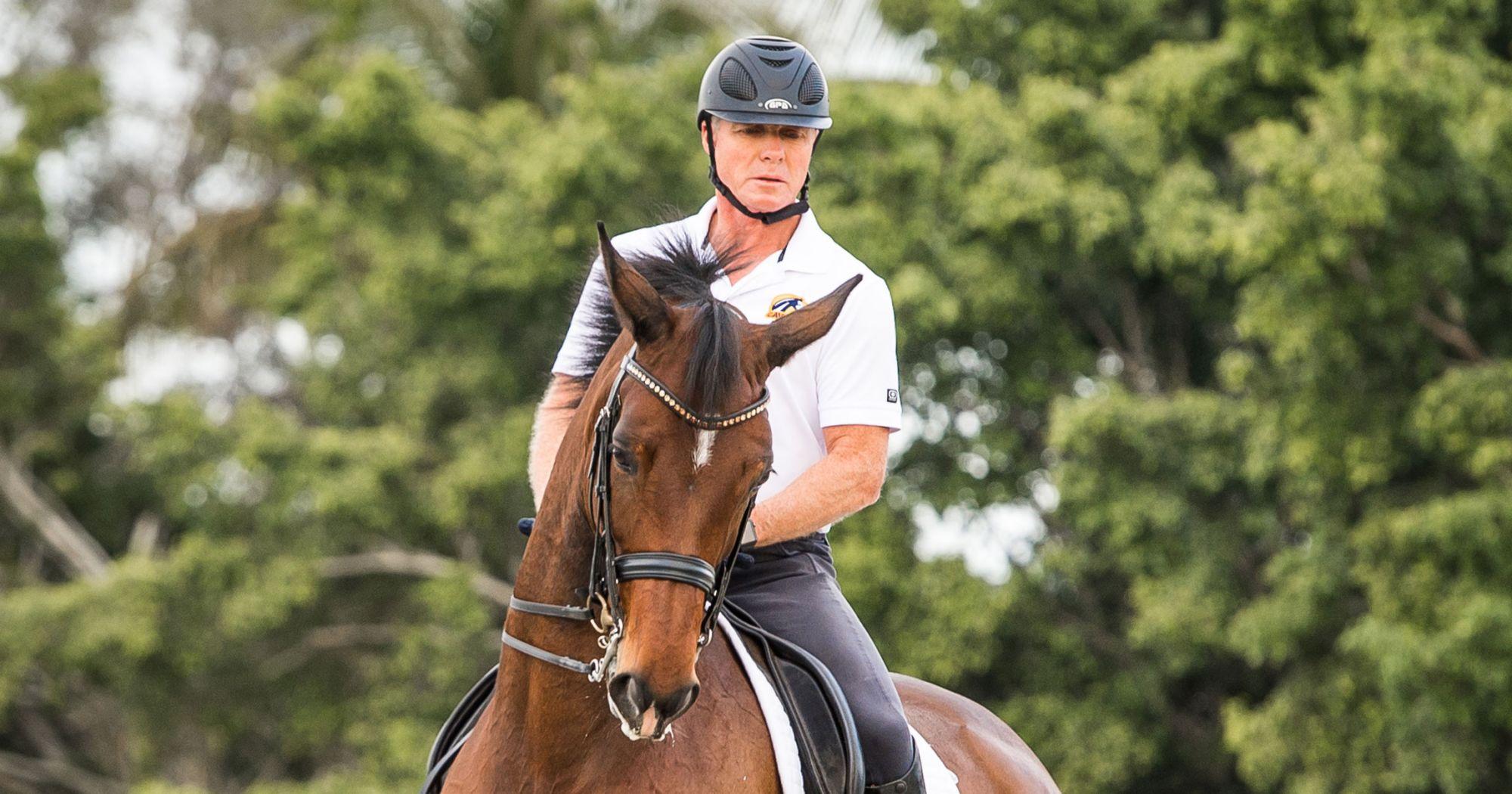 Jan Ebeling, the Dressage trainer, courtesy of Cavalor